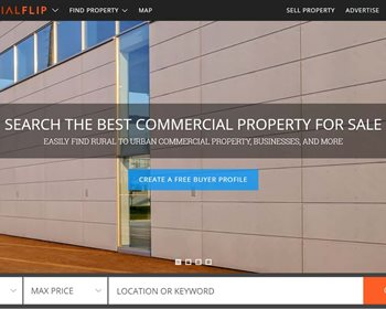 LANDFLIP Launches Specialized Website COMMERCIALFLIP, An Industry First