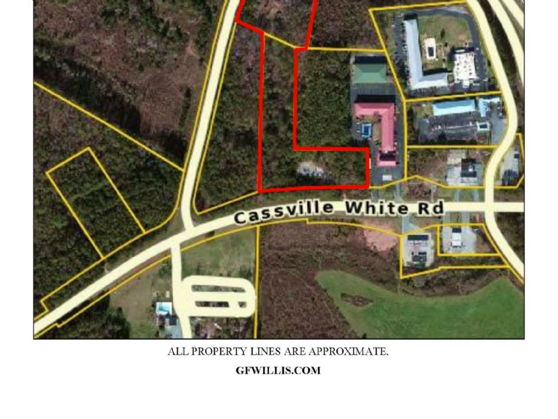 7.7425 +/- Commercial Acres : Cartersville : Bartow County : Georgia