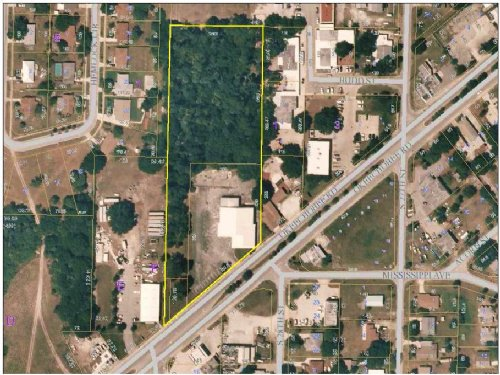 12,000Sf Building On 4 Acres : Fort Pierce : Saint Lucie County : Florida