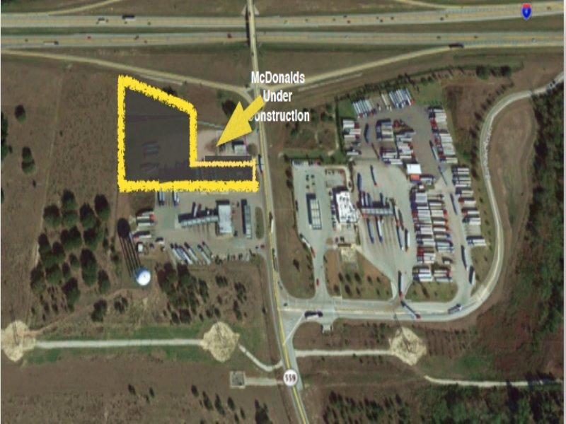 2.4 Acres Commercial Land Off I-4 : Polk City : Polk County : Florida