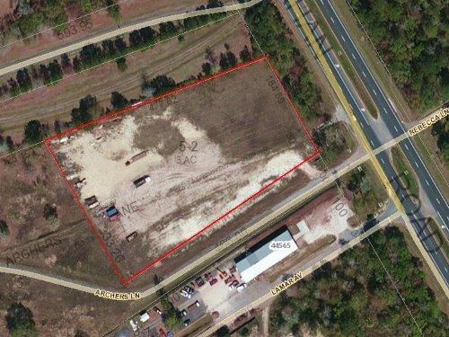 3 Acres, Commercial : Callahan : Nassau County : Florida