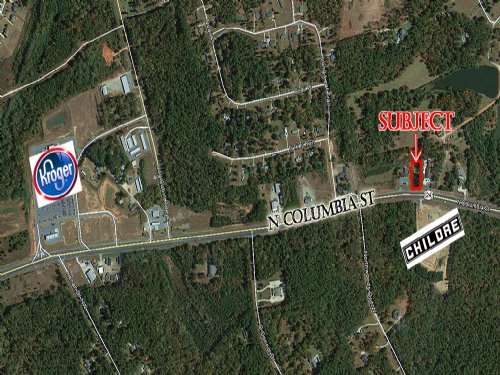 Reduced Commercial Lot : Milledgeville : Baldwin County : Georgia