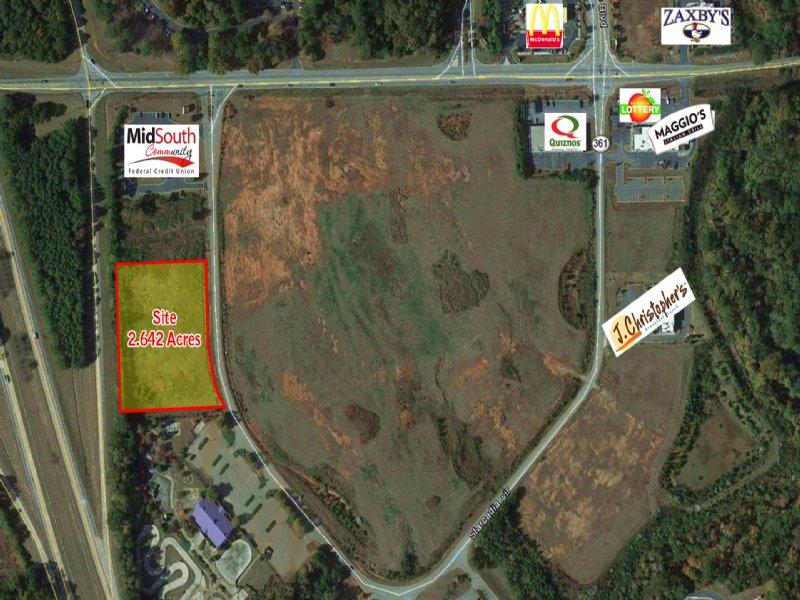 2.64 Acres For Sale : Macon : Bibb County : Georgia