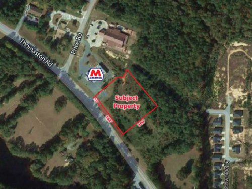 1.5 Acre Commercial Lot : Macon : Bibb County : Georgia