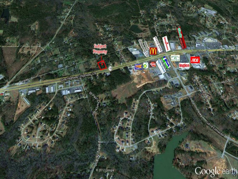 2 Acre Lot On Gray Hwy : Gray : Jones County : Georgia