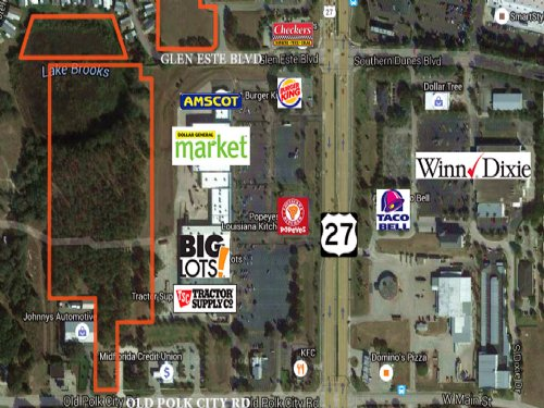 13.15 Acres Mixed-Use Commercial : Haines City : Polk County : Florida