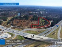 7.96 Acres Hwy 92 & I-20 : Douglasville : Douglas County : Georgia
