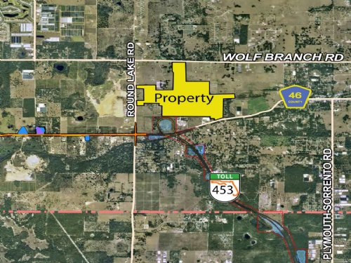 Wekiva Pkwy Development Land : Sorrento : Lake County : Florida