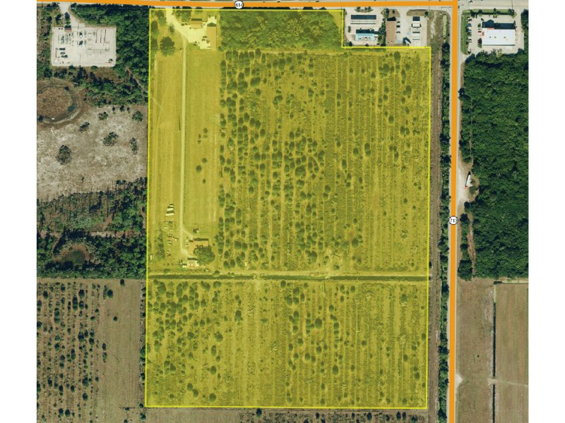 55 Acres at Indrio Road & Kings Hwy : Fort Pierce : Saint Lucie County : Florida