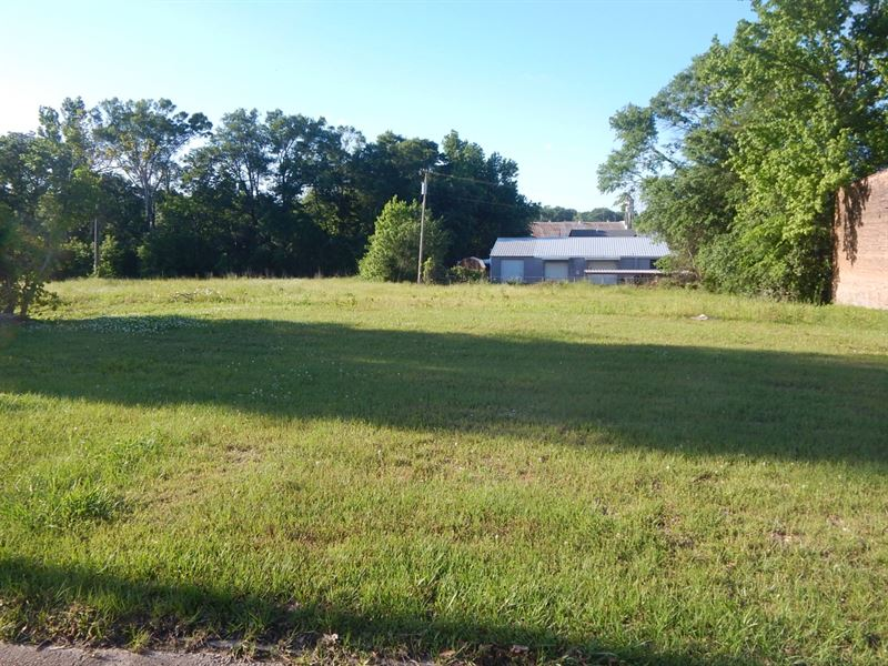 3.22 Acres Commercial Downtown : McComb : Pike County : Mississippi