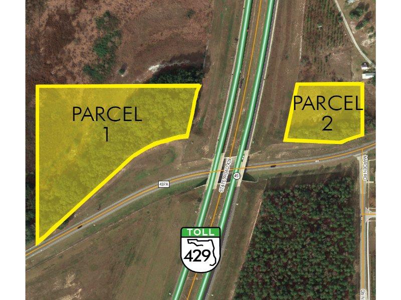 Sr 429 Beltway Parcel : Apopka : Orange County : Florida
