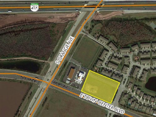 2.66 Acre Wawa Outparcel : Orlando : Orange County : Florida