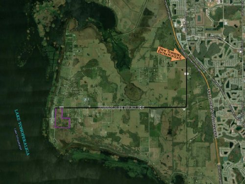 92 Mixed-Use Acres Near Lake Toho : Saint Cloud : Osceola County : Florida