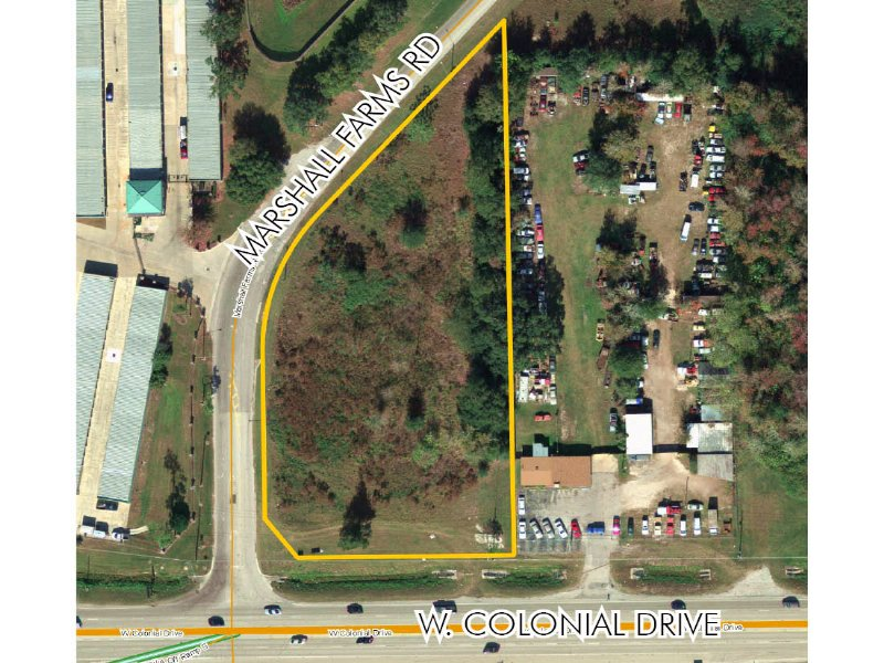2.21Ac Near Sr 429/Fl Turnpike : Ocoee : Orange County : Florida