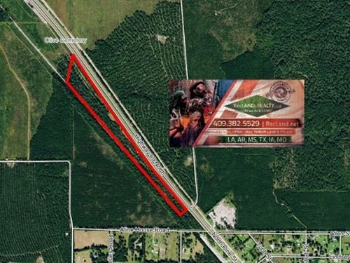 19.9 Ac Timberland Tract With Home : Kountze : Hardin County : Texas