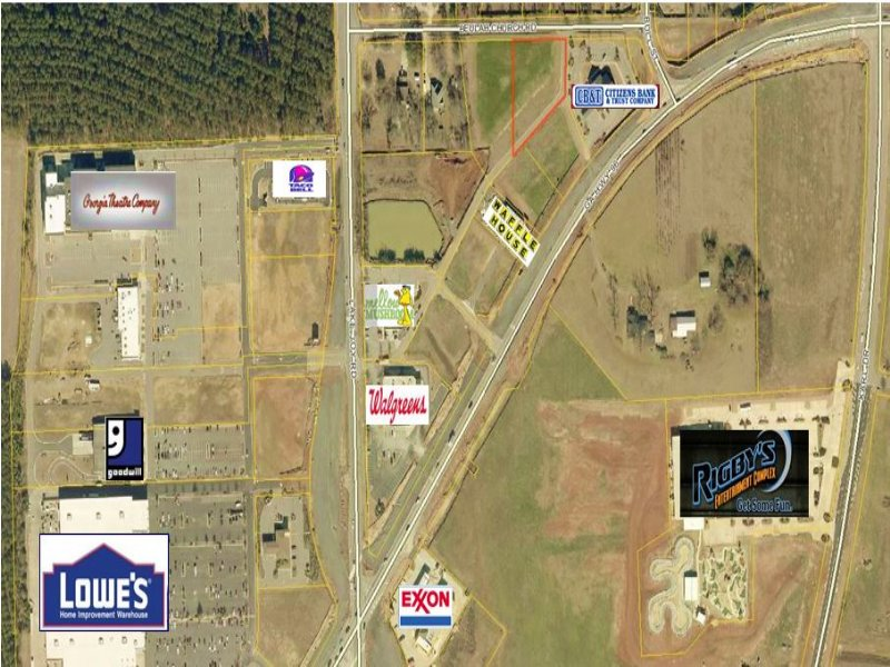 .99 Acre Commercial Lot : Warner Robins : Houston County : Georgia