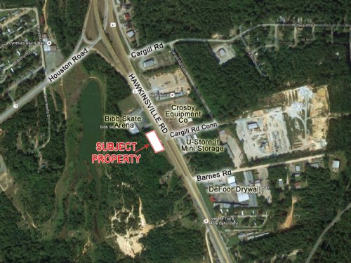 .68 Ac Hawkinsville Rd : Macon : Bibb County : Georgia