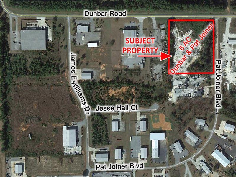 6 Ac Pat Joiner & Dunbar Rd : Byron : Peach County : Georgia
