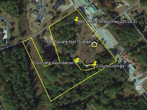 McCormick Commercial Property : McCormick : South Carolina