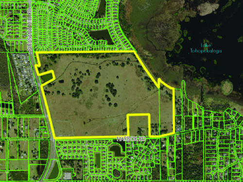 Mixed-Used Lakefront Subdivision : Kissimmee : Osceola County : Florida