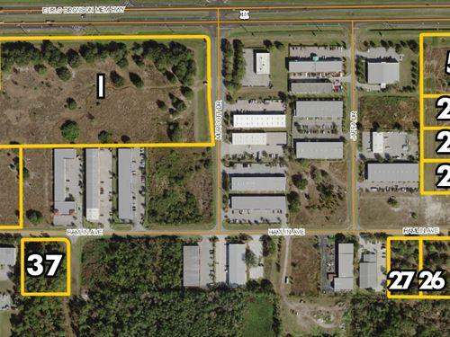 Osceola Industrial Park Land : Saint Cloud : Osceola County : Florida