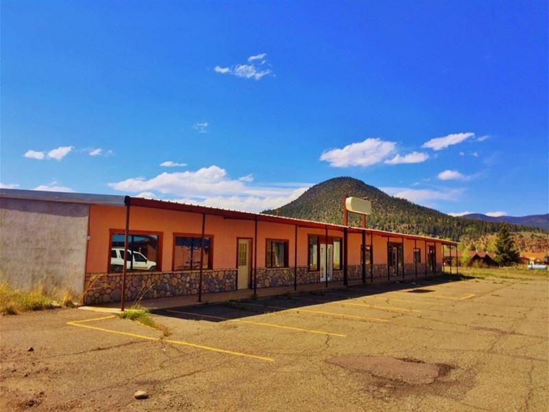 South Fork Commercial Property : South Fork : Rio Grande County : Colorado