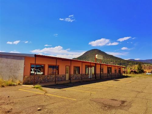 South Fork Commercial Property : South Fork : Rio Grande County : Colorado