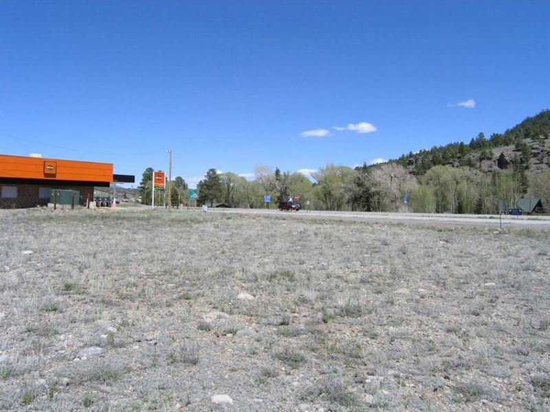Two Commercial Highway Lots : South Fork : Rio Grande County : Colorado