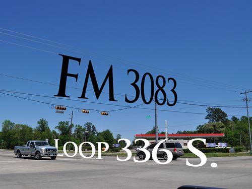 7.5 Ac S Loop 336 : Conroe : Montgomery County : Texas