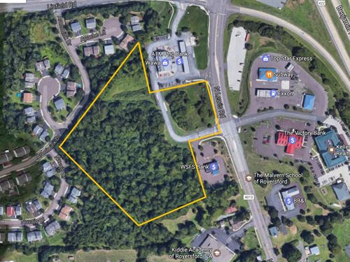 8.59 Acre Retail Business Site : Limerick : Montgomery County : Pennsylvania