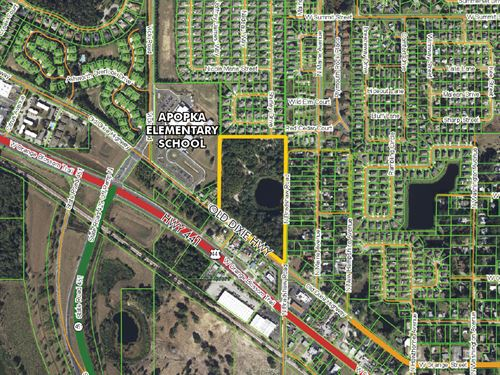 Apopka Prime Development Land : Apopka : Orange County : Florida