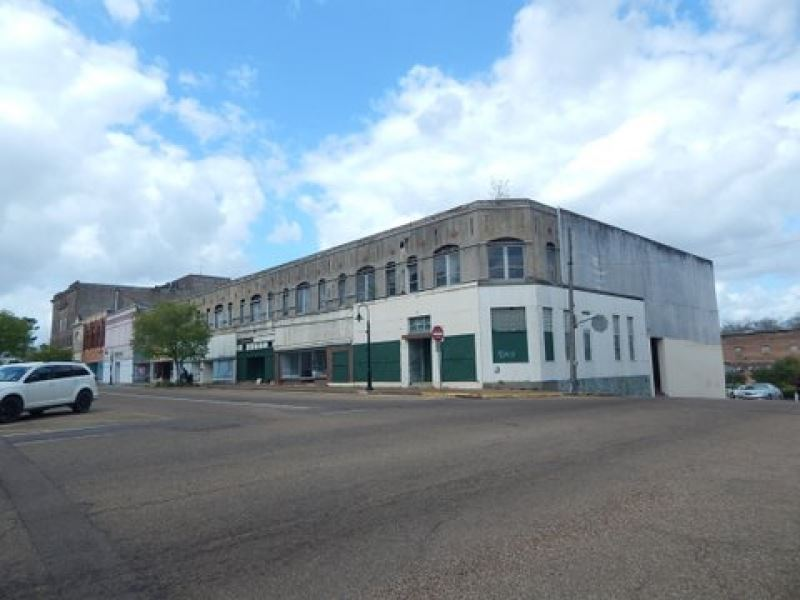Commercial Building Downtown : McComb : Pike County : Mississippi