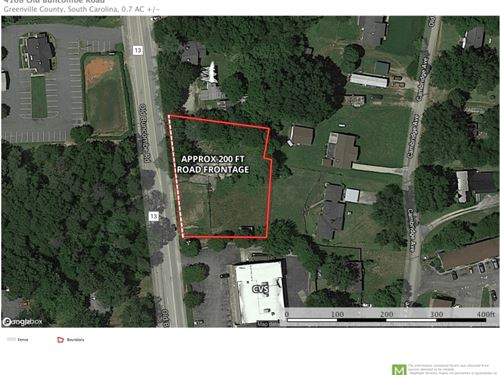 Reduced, Commercial Lot, Old Bunc : Greenville : South Carolina