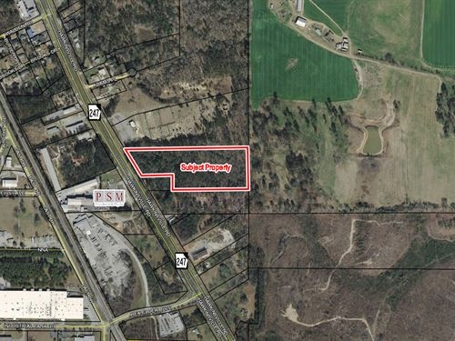 Reduced 9.82 Acres For Sale : Macon : Bibb County : Georgia