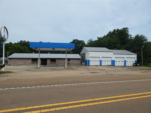 Commercial Property In Sartinville : Jayess : Lawrence County : Mississippi