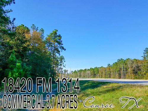 3.73 Acres In Montgomery County : Conroe : Montgomery County : Texas
