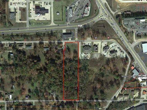 3.10 Acres Commercial Property For : Poplar Bluff : Butler County : Missouri
