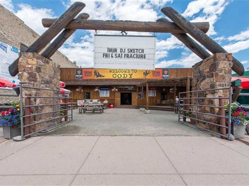 Business in Downtown Cody, Wyoming : Cody : Park County : Wyoming
