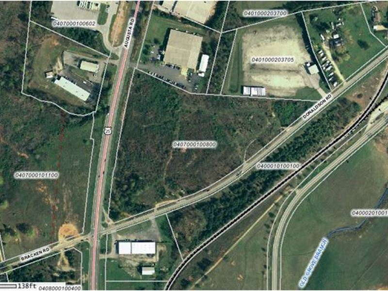 Donaldson Commercial Tract : Greenville : Greenville County : South Carolina
