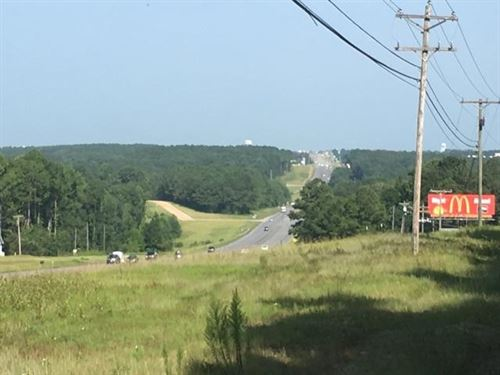 15 Ac Of Commercial Land : Troy : Pike County : Alabama