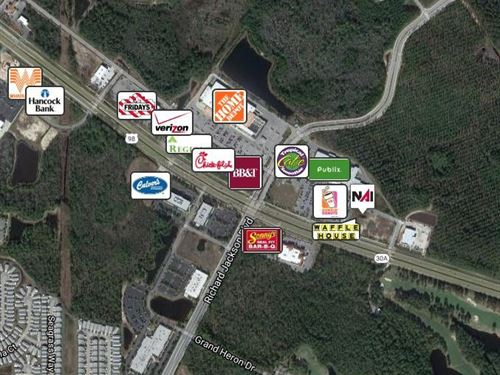 Land Lease Breakfast Pt Market Pl : Panama City Beach : Bay County : Florida