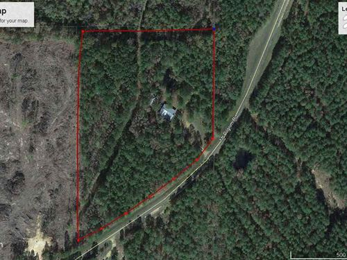 Wooded Lot, 4000 Sq Ft Building : Canton : Madison County : Mississippi
