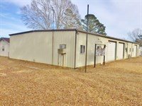 4000 Sqft Commercial Building : McComb : Pike County : Mississippi