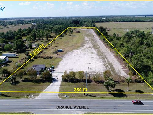Secured 10.23Ac Business Location : Fort Pierce : Saint Lucie County : Florida