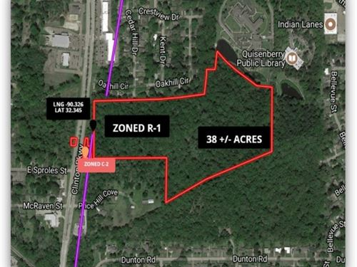 38 Acres In Hinds County In Clinton : Clinton : Hinds County : Mississippi