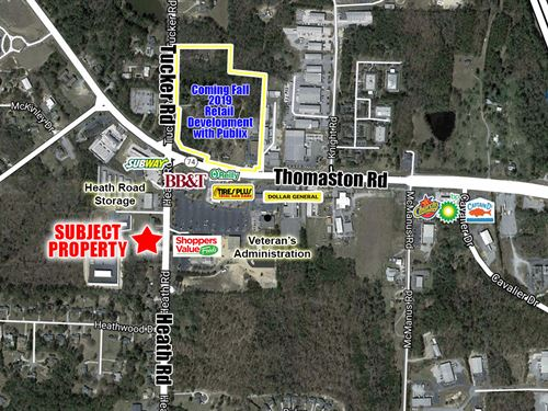1.64 Ac Lot Commercial Potential : Macon : Bibb County : Georgia