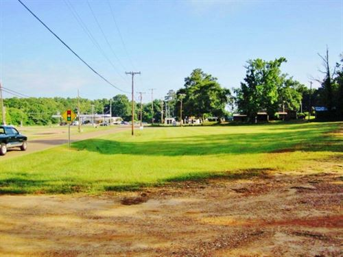 Excellent Location Commercial Lot : McComb : Pike County : Mississippi