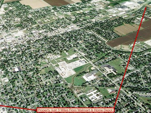 Rare Lot In Historic Town Of Matton : Mattoon : Coles County : Illinois