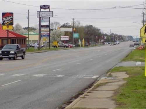 Commercial Lot On Hwy 9 Cheraw Sc : Cheraw : Chesterfield County : South Carolina