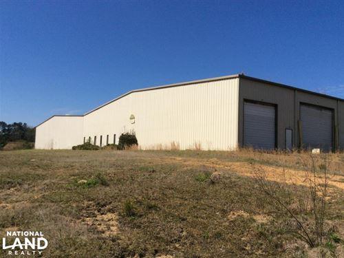Large Commercial Warehouse in Hazel : Hazlehurst : Copiah County : Mississippi